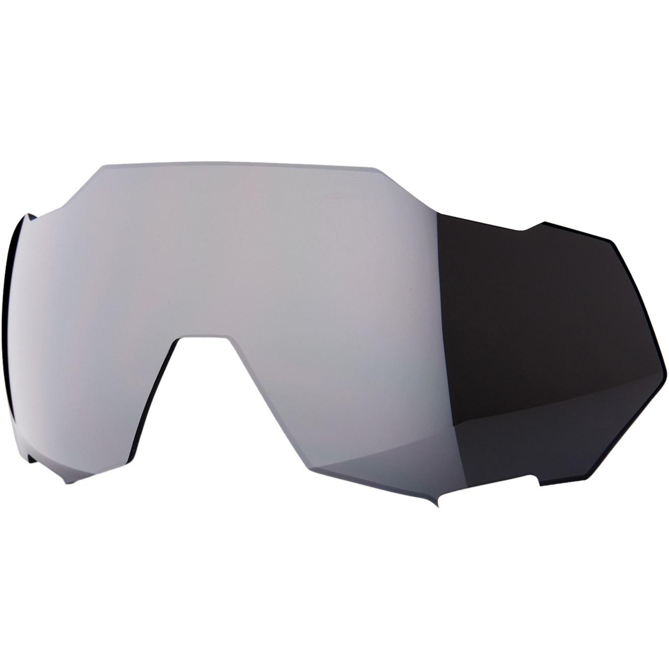 100% Speedtrap Mirror Lente de repuesto - Black Mirror