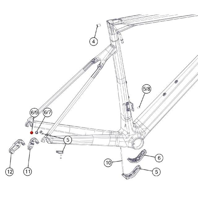 BMC eTap Plug #6 - 301103 - 1 Piece