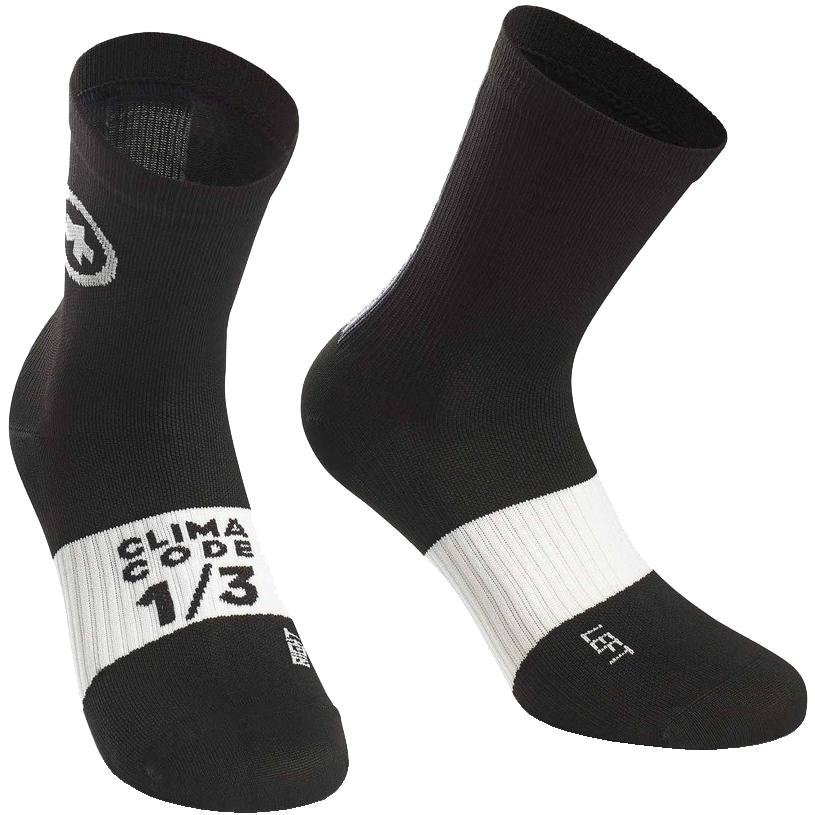 Assos ASSOSOIRES Summer Socks - blackSeries