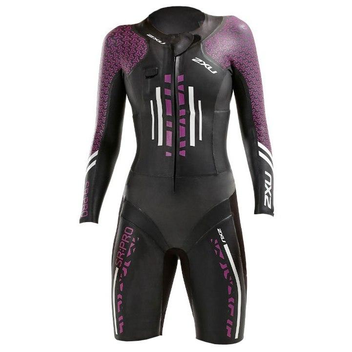2XU SR:Pro Swimrun Pro Wetsuit - black/very berry