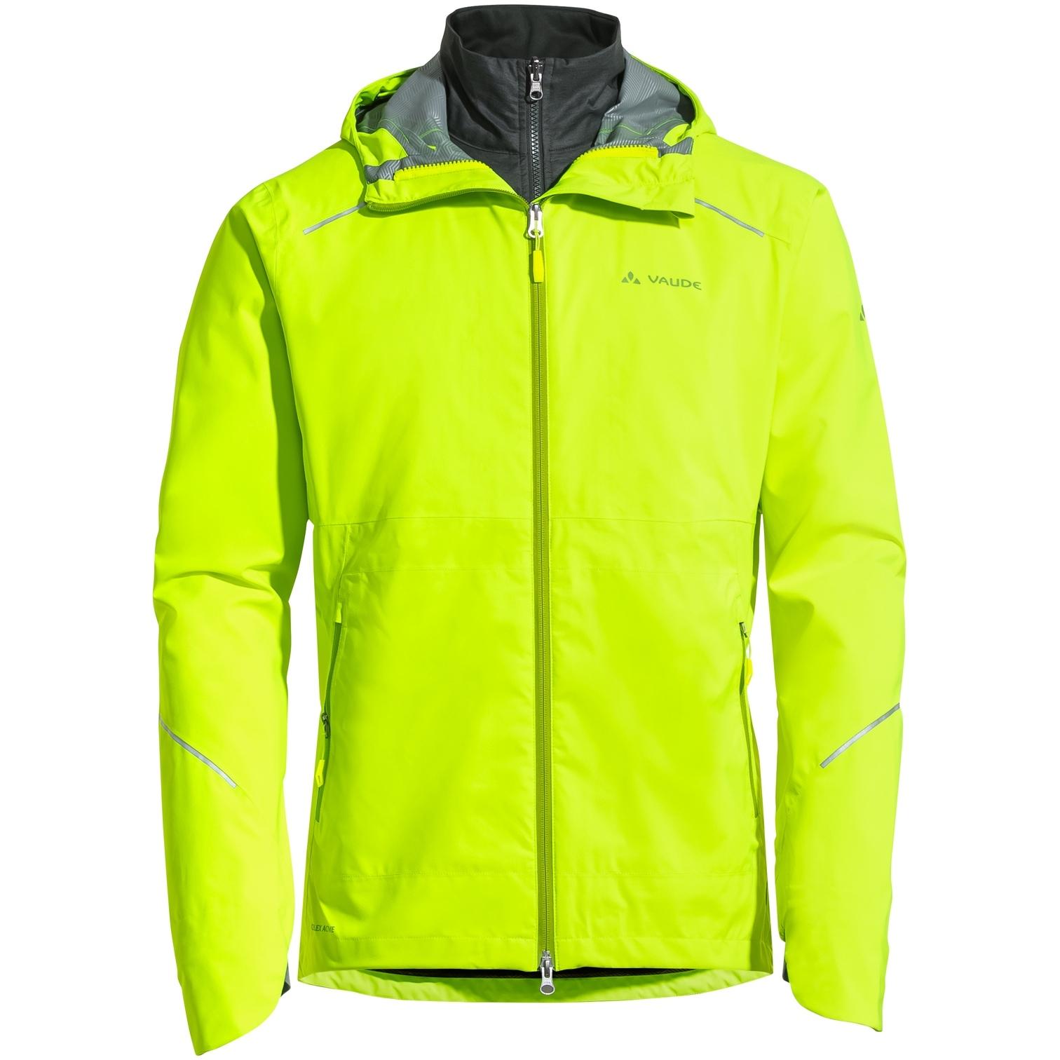 Vaude Yaras 3in1 Jacke - neon gelb