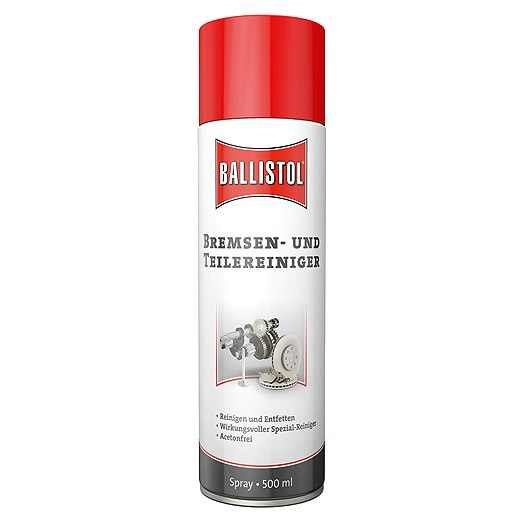 Ballistol Cleaner for Brakes and Metal Parts - 500ml