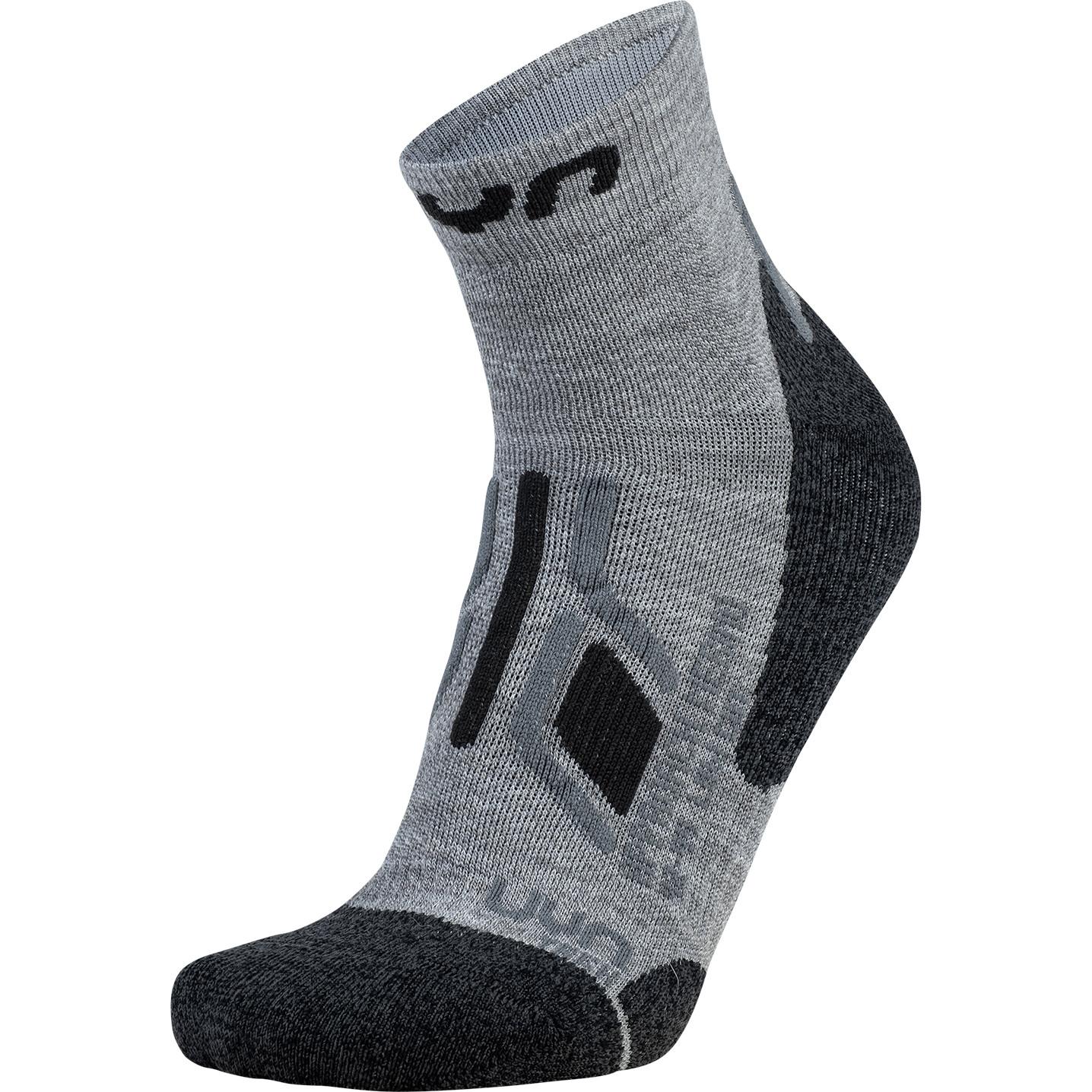 UYN Lady Trekking Approach Merino Low Cut Socks - Mid Grey