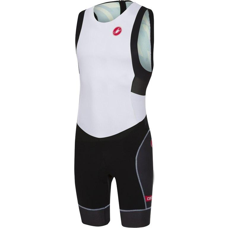 Castelli Free Tri ITU Suit 18110 - white/black 101