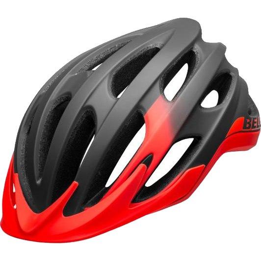 Bell Drifter Helmet - matte/gloss gray/infrared