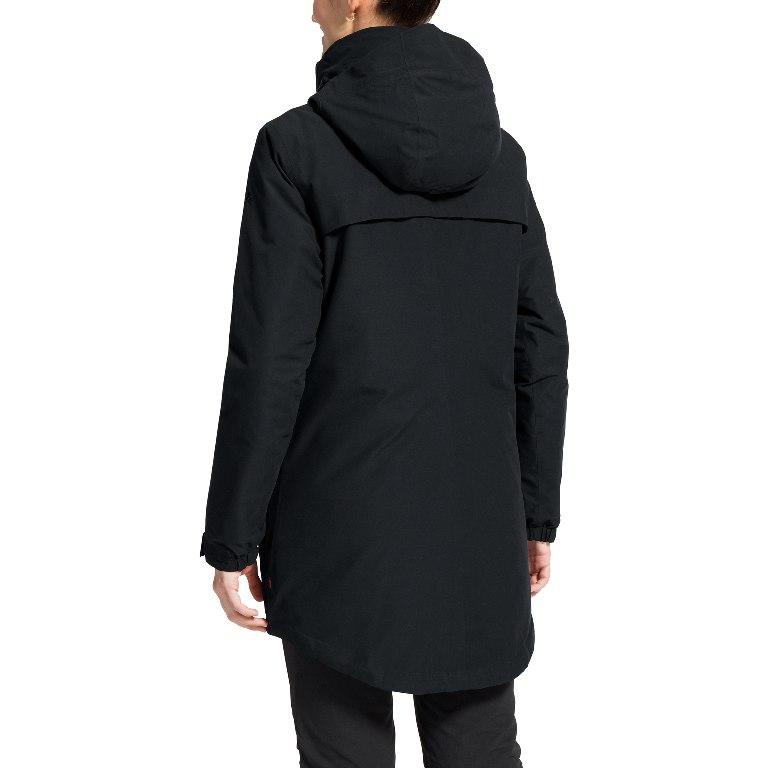 Image of Vaude Women's Skomer Wool Parka - black