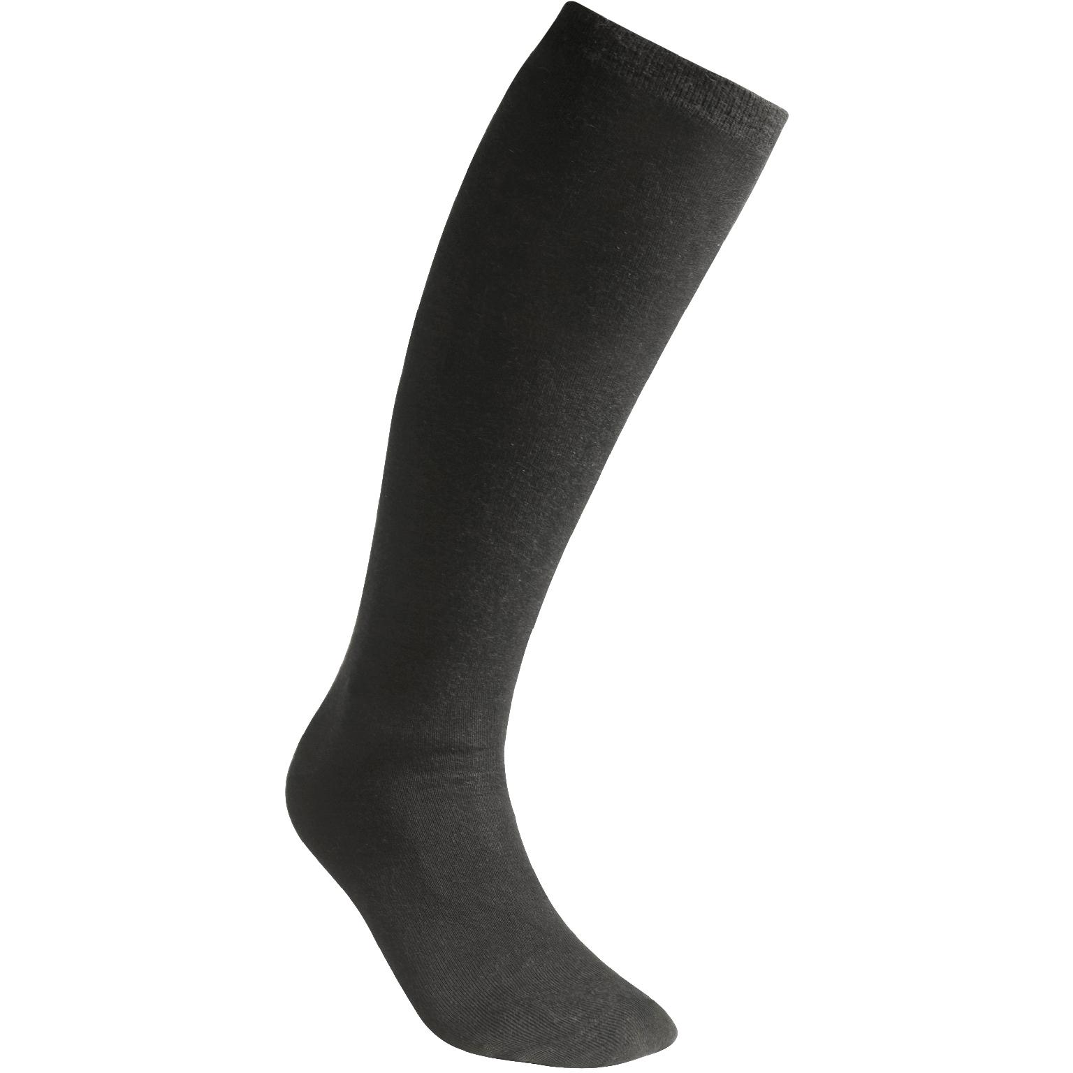 Image of Woolpower Liner Knee-High Socks - black