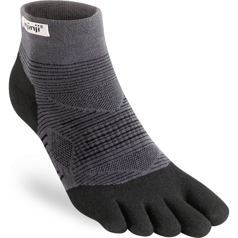 Injinji Run Original Weight Mini-Crew Coolmax® Socks 262130 - black