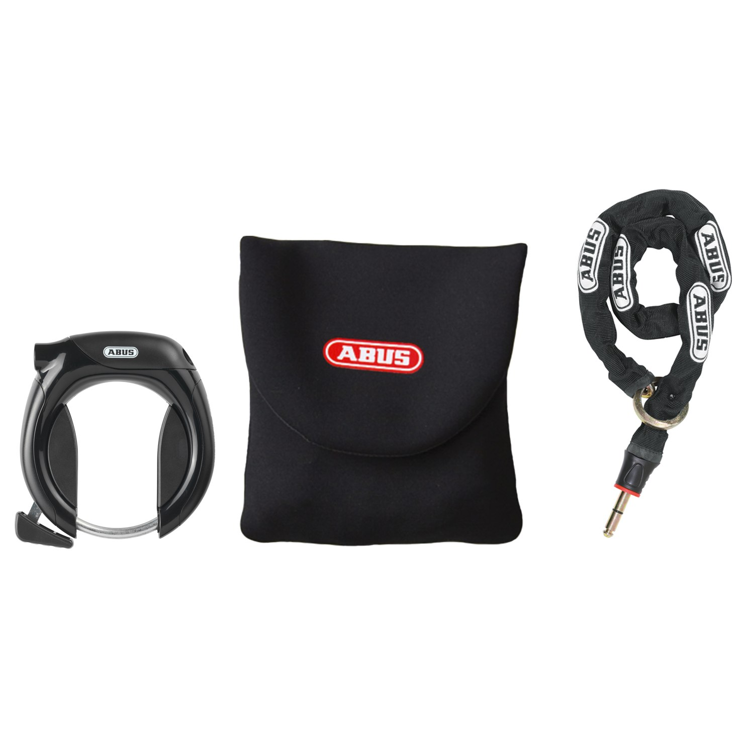 ABUS Pro Tectic 4960 Frame Lock + 6KS/85 Chain + ST4850 Bag