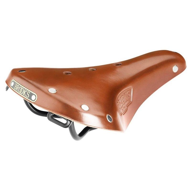 Brooks B17 S Standard Classic Bend Leather Lady's Saddle - honey
