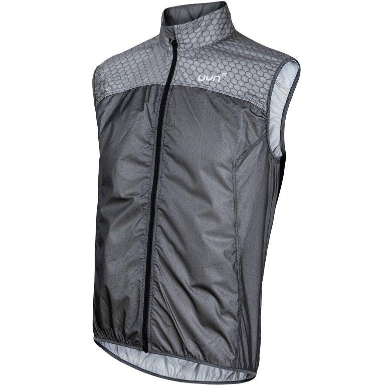 UYN Biking Alpha Packable Wind Vest - Black Melange