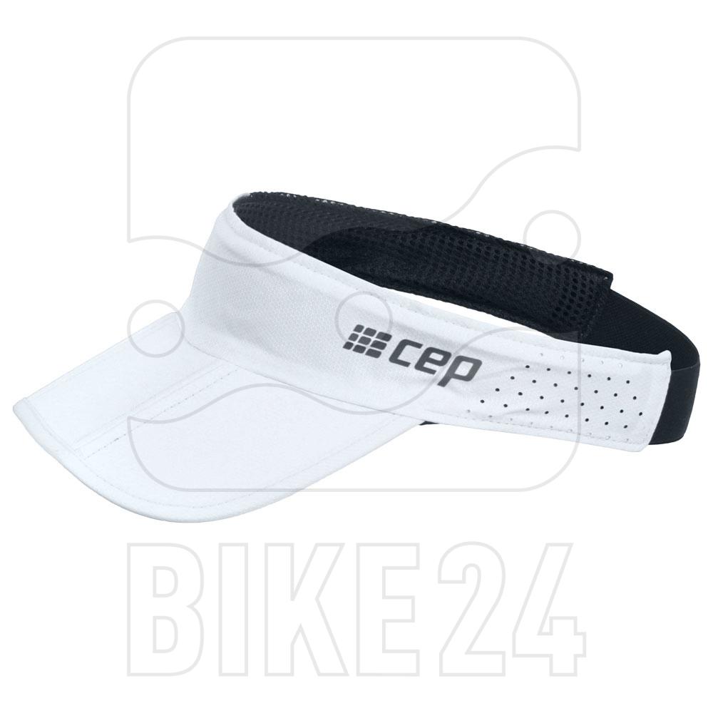CEP Running Visor - white