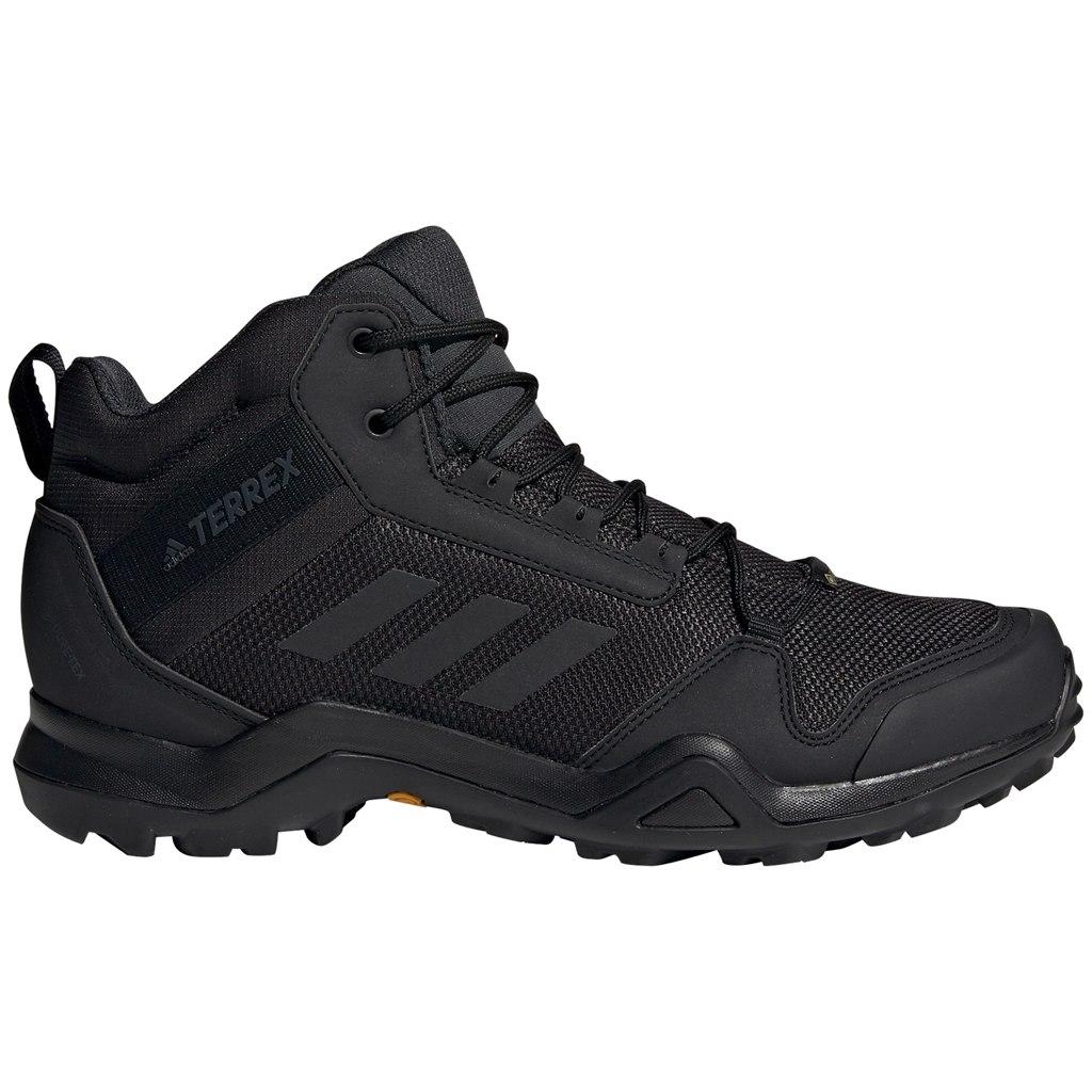 adidas Männer TERREX AX3 Mid GORE-TEX Wanderschuhe - core black/core black/carbon BC0466