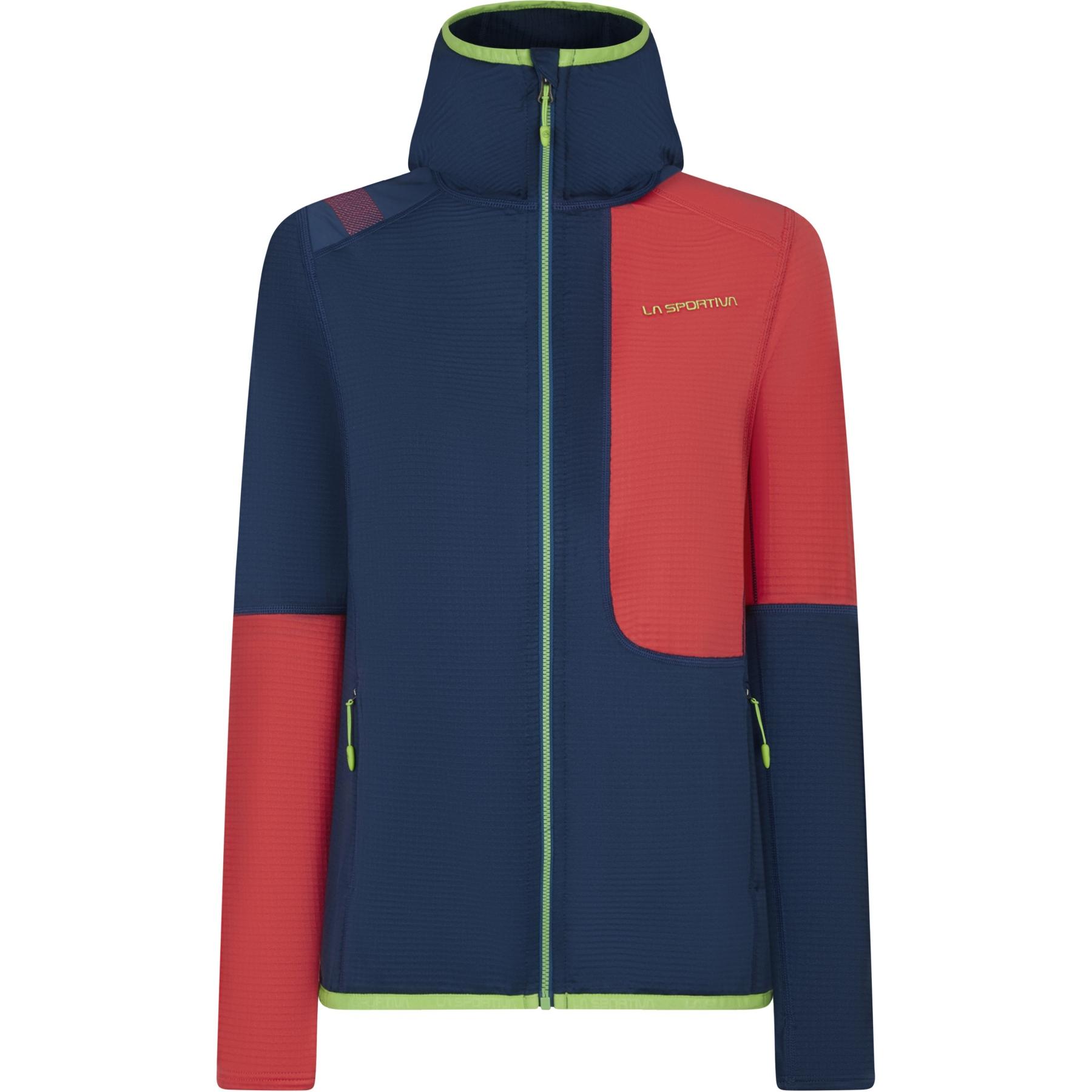 La Sportiva Granite Hoody Jacket Women - Opal/Hibiscus