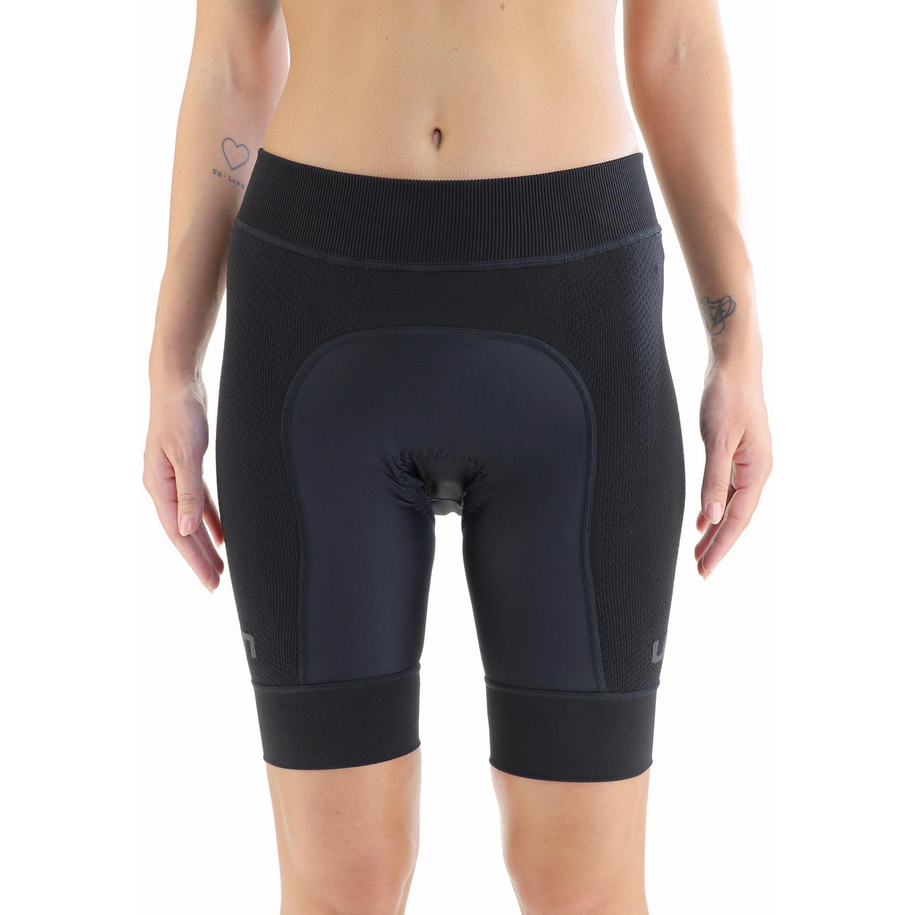 UYN Biking Ridemildes Shorts Damen - Schwarz/Schwarz