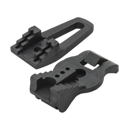 Bild von Vaude Step Adjust Oversize Hook (1 Paar) - black