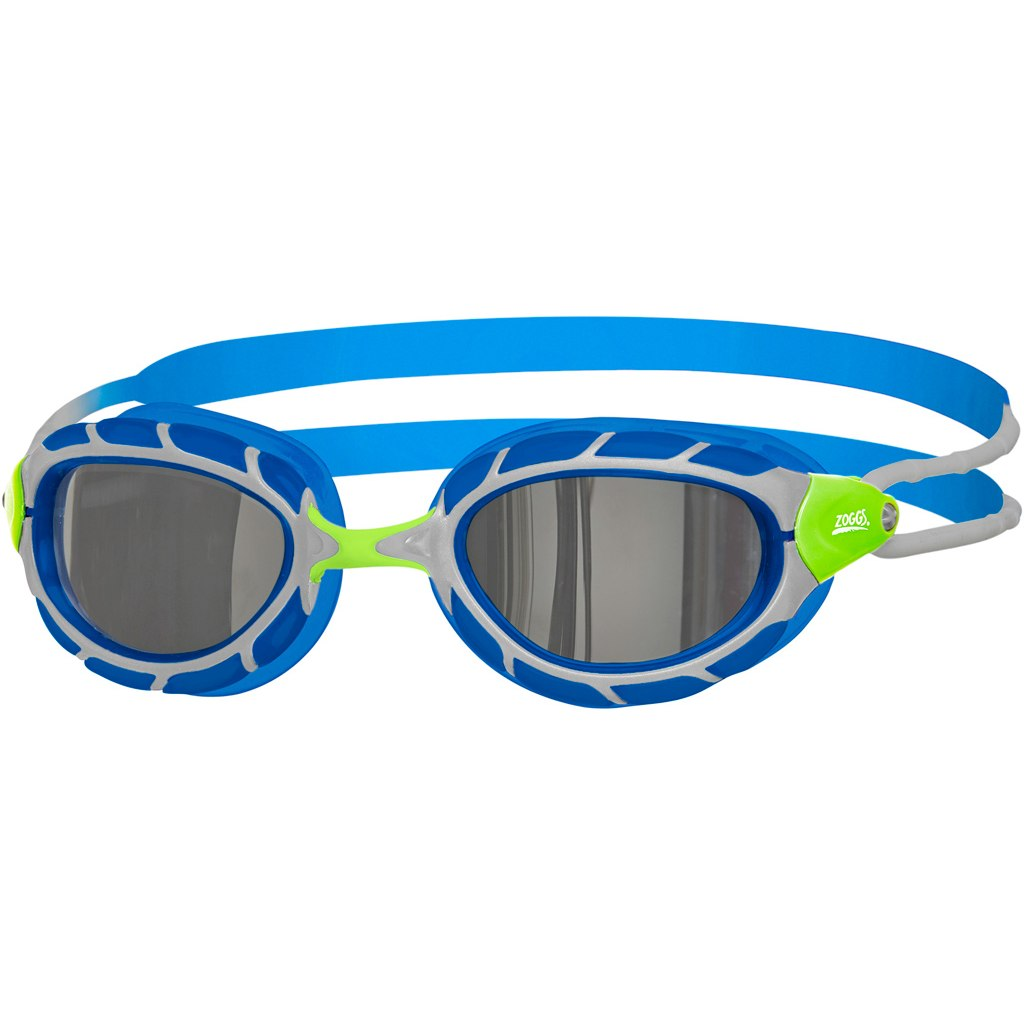 Zoggs Predator Titanium Gafas de natación - Green/Blue/Titanium