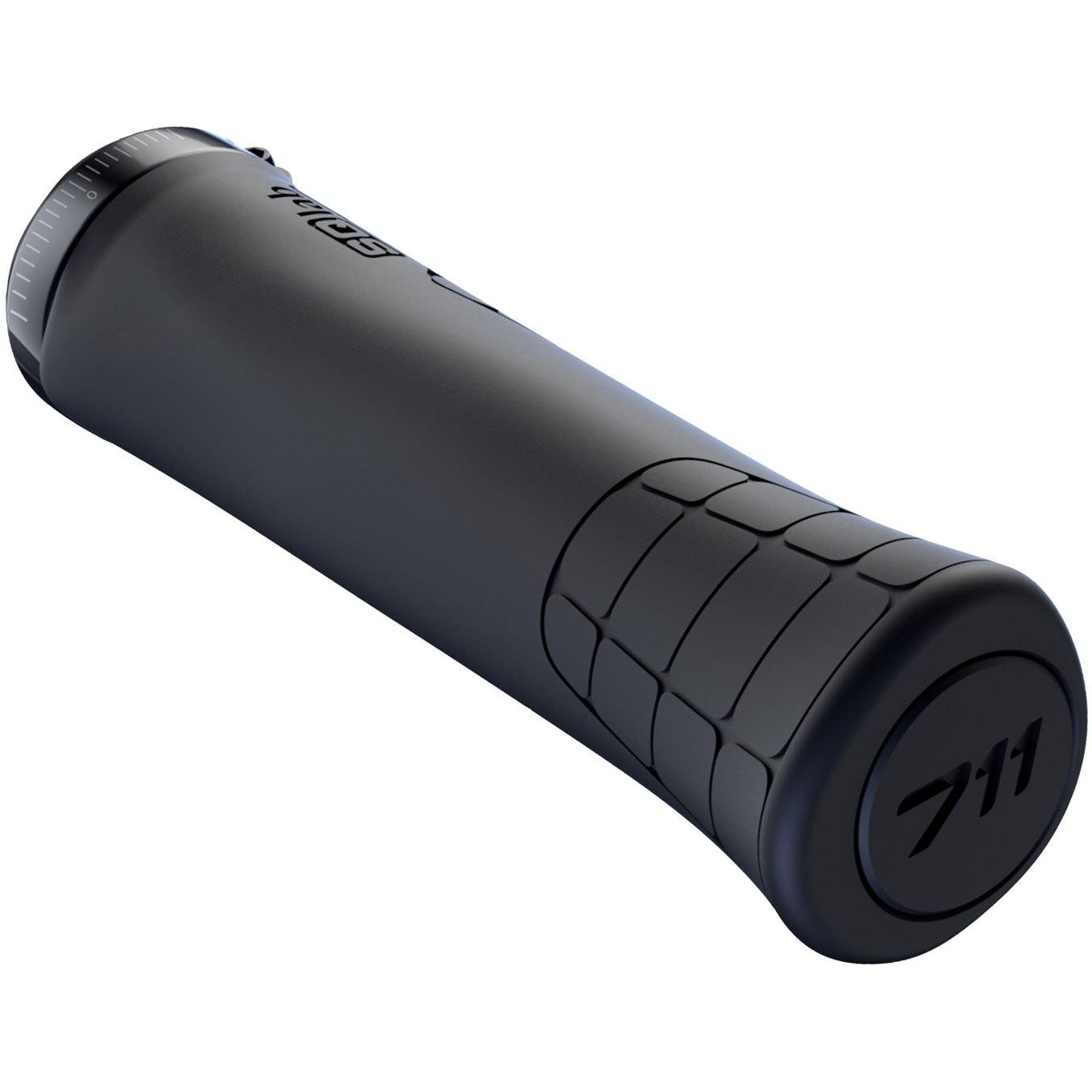 Image of SQlab 711 MTB Tech & Trail Bar Grips - black