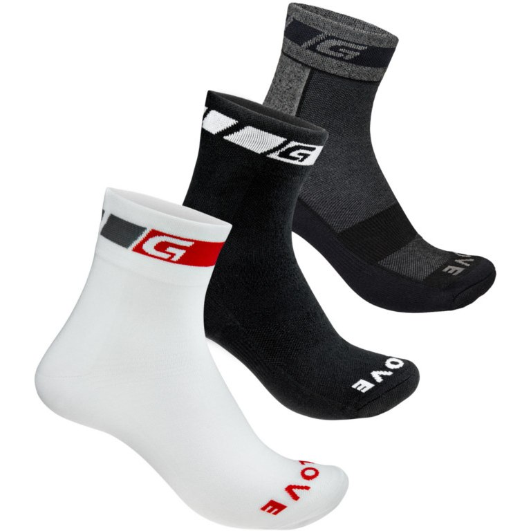 GripGrab All-season Socks 3PACK - Black