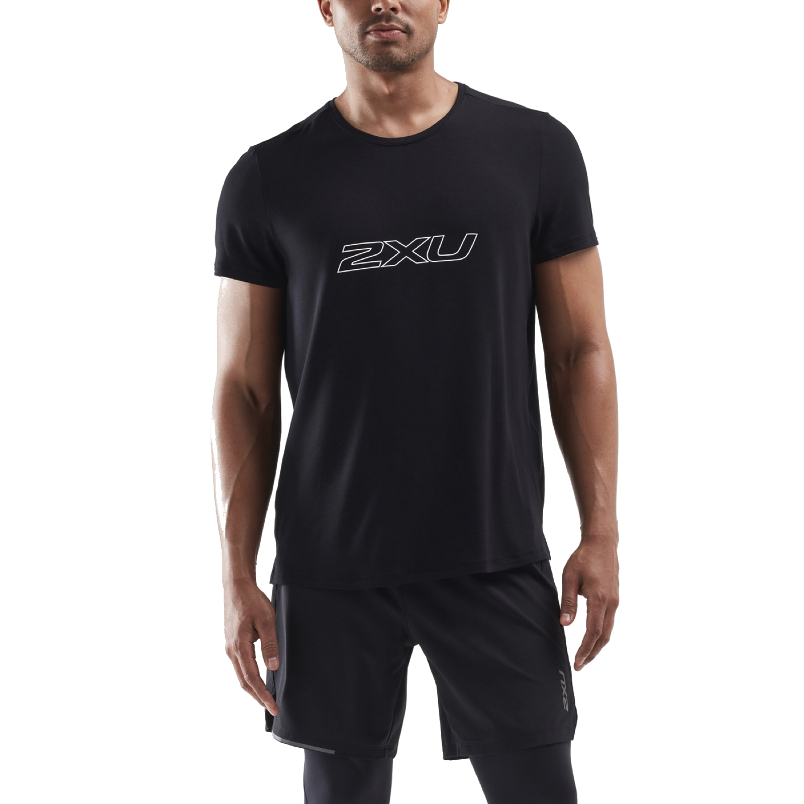 Imagen de 2XU Contender Camiseta - black/white
