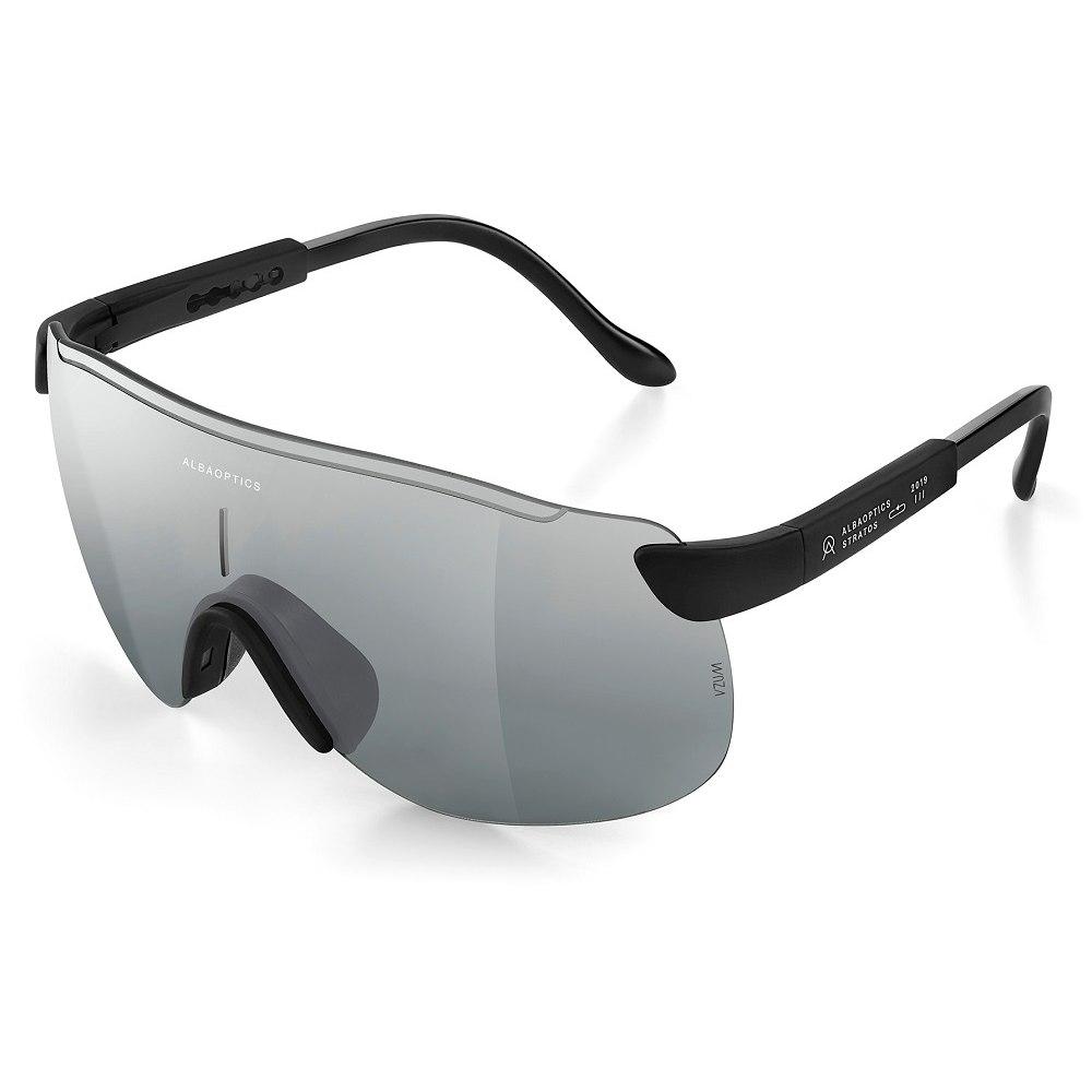 ALBA Stratos Black / Mirror Alu Glasses