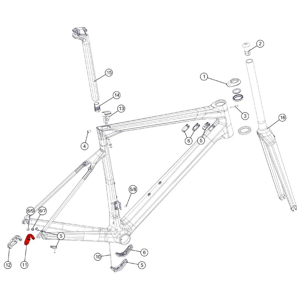 BMC Derailleur Hanger #56 - 301090