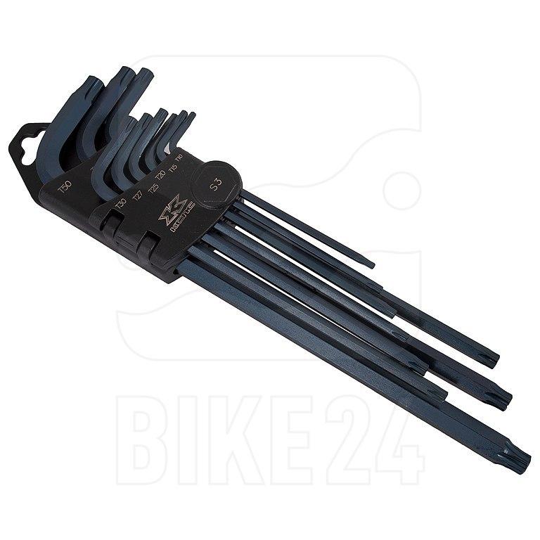 KCNC Standard Torx Key Set - Torxschlüssel Set 9-teilig T10 - T50
