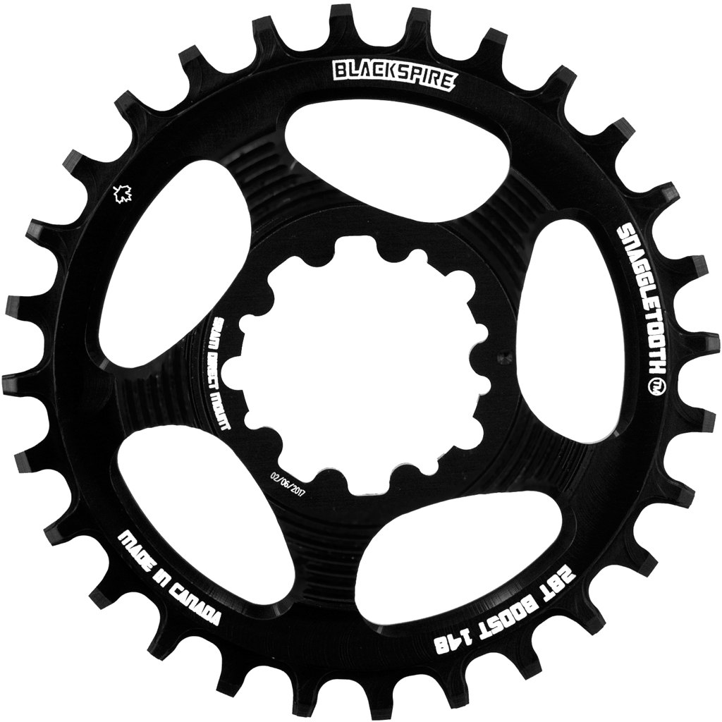 Blackspire Snaggletooth SRAM Chainring Narrow-Wide Direct Mount 3mm Boost Offset