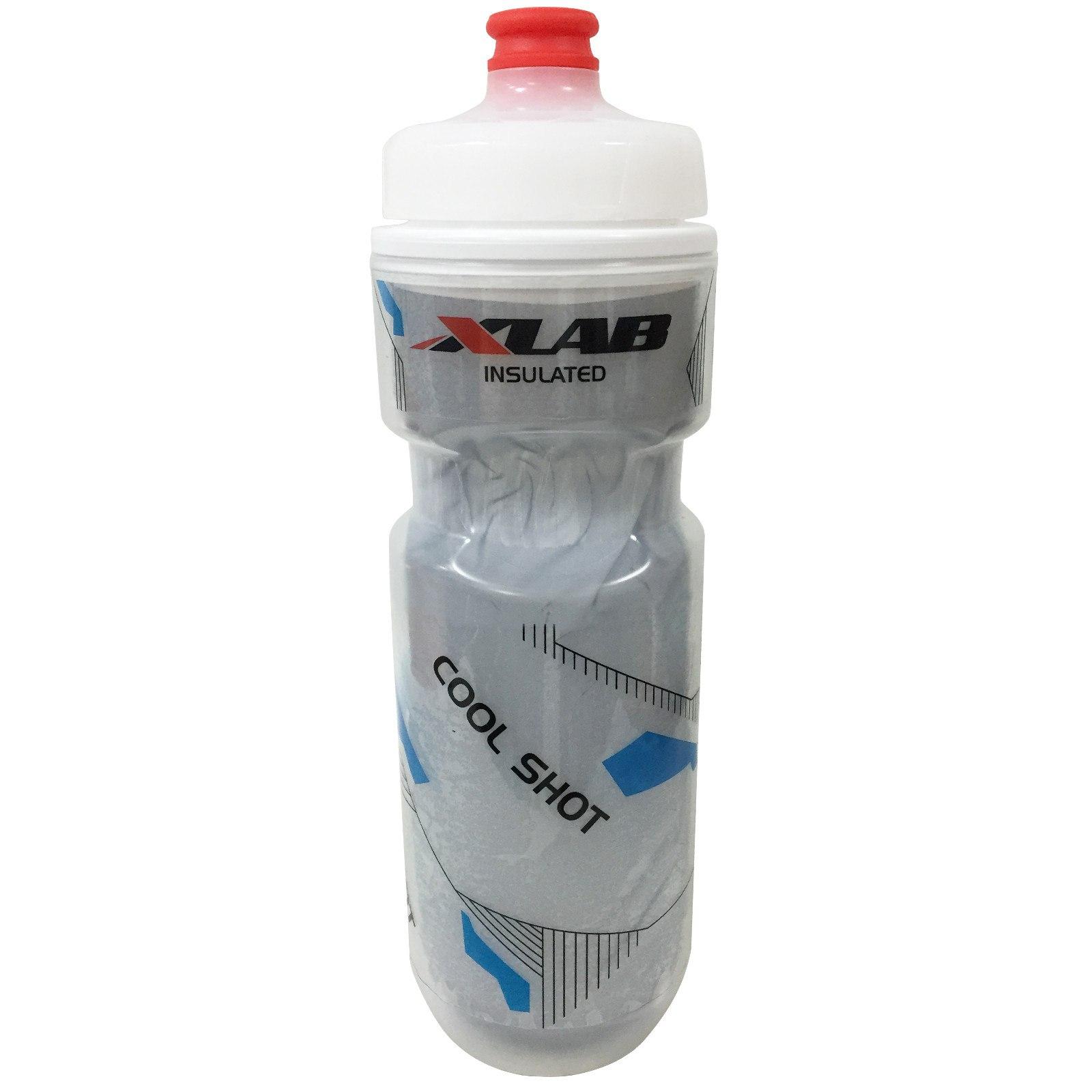 Bild von XLAB Cool Shot Trinkflasche - transparent / silber