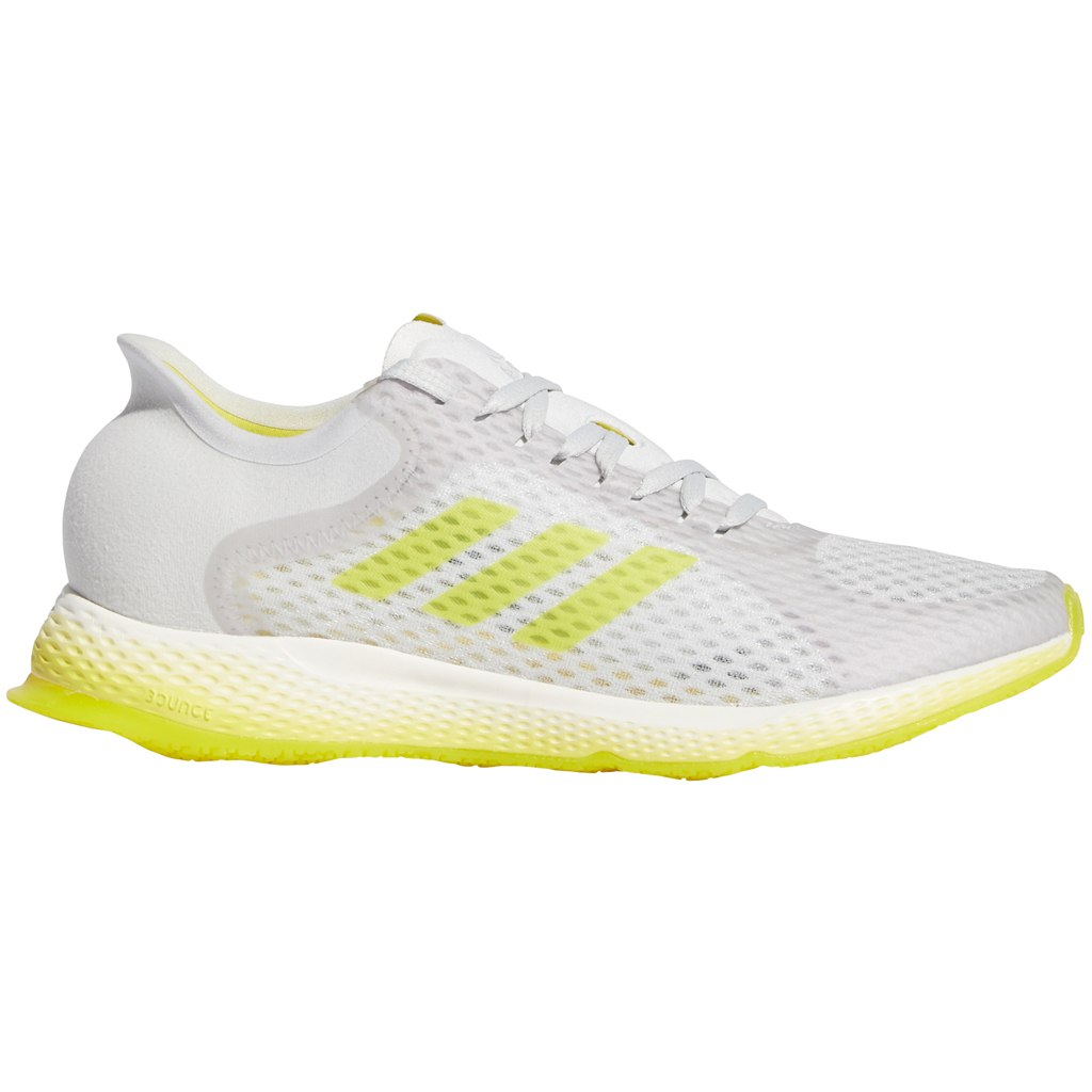adidas Women's Focus Breathe In Running Shoe - dash grey/shock yellow/cloud white EG1096