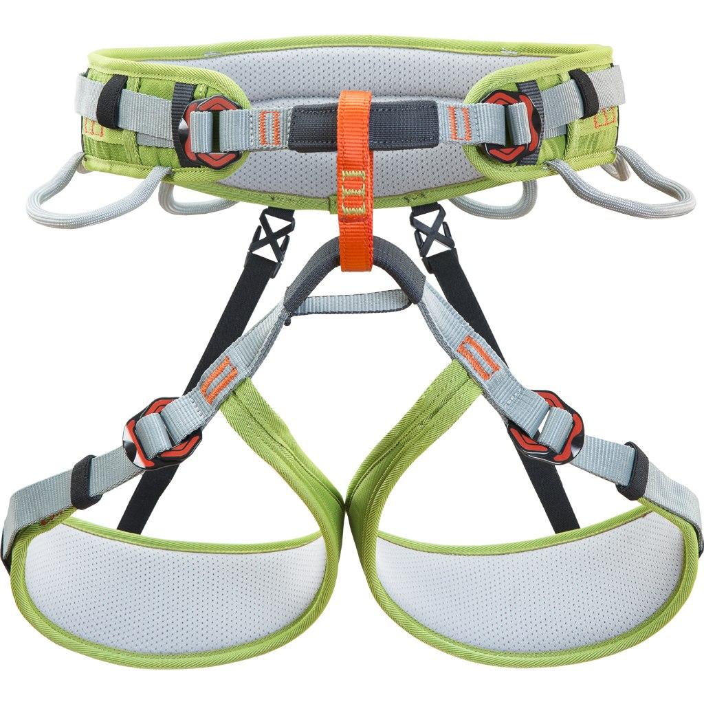 Climbing Technology Ascent Harness - Junior - grey/green