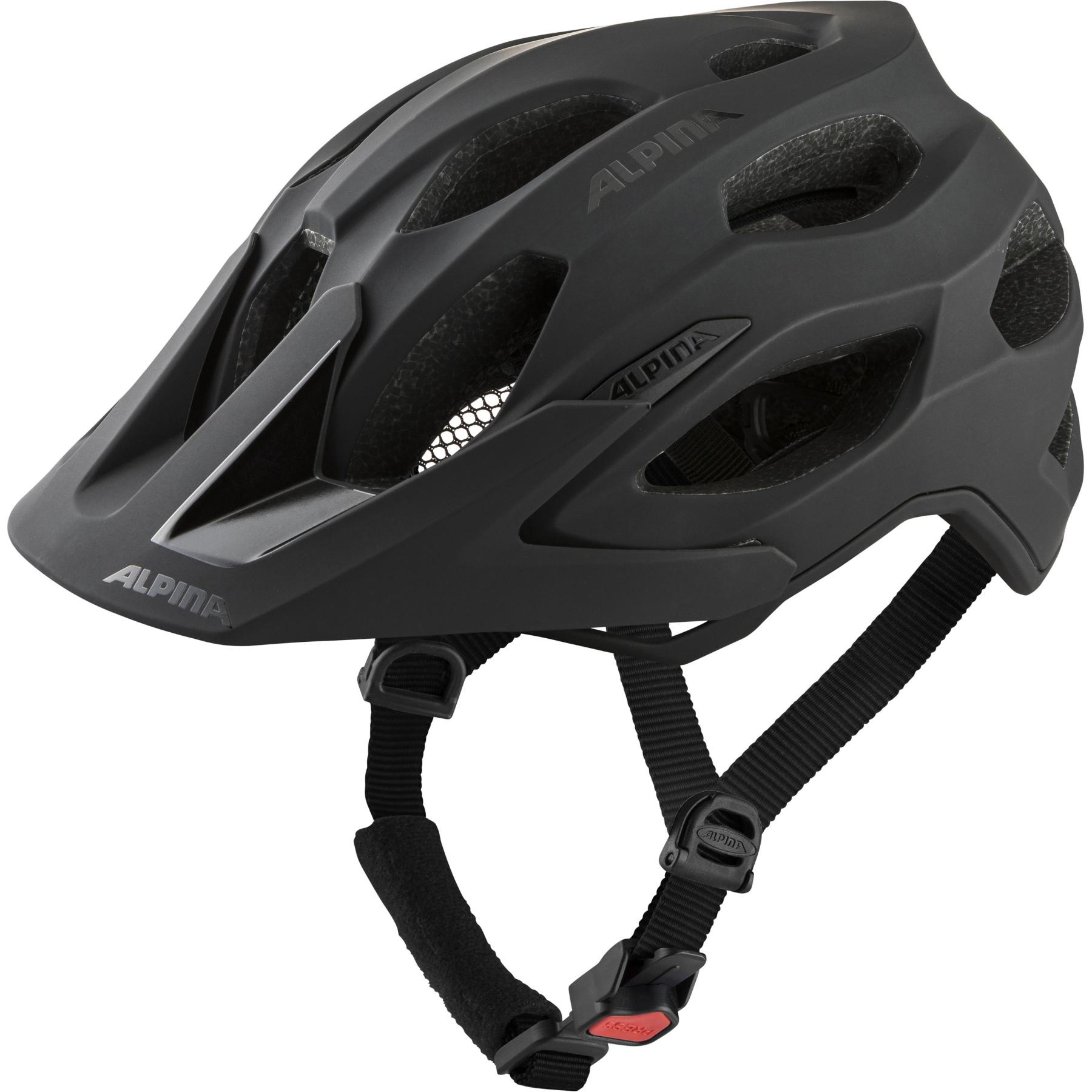 Image of Alpina Carapax 2.0 Helmet - black matt