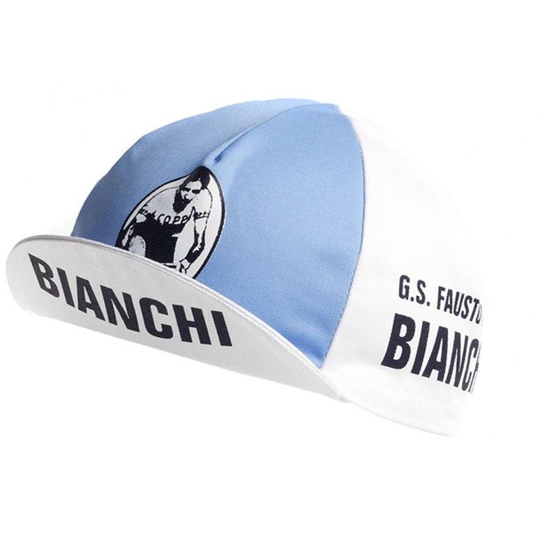 Apis Retro Style Team Cycling Cap - FAUSTO COPPI - BIANCHI