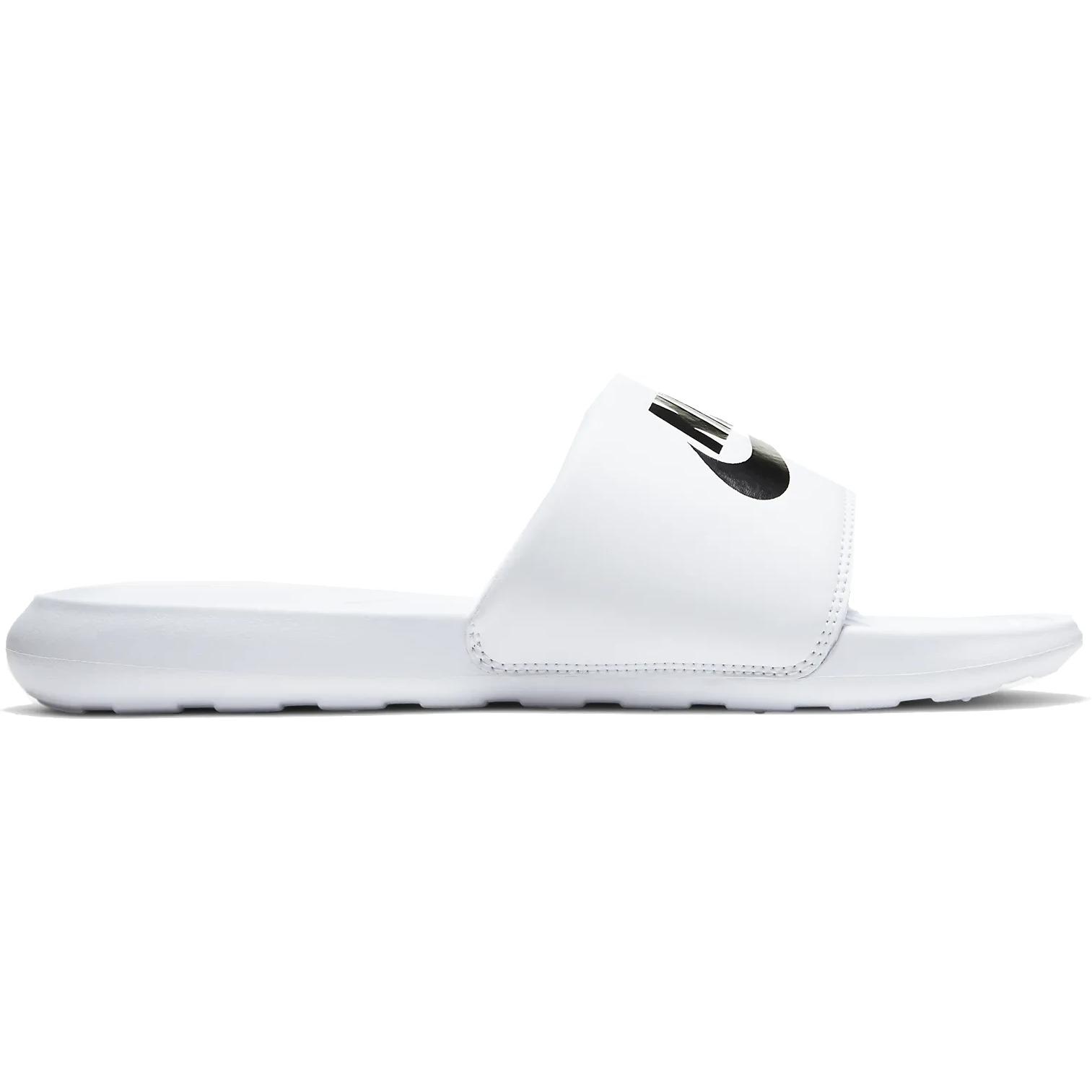 Produktbild von Nike Victori One Slide Herren Badeschuhe - white/black-white CN9675-100