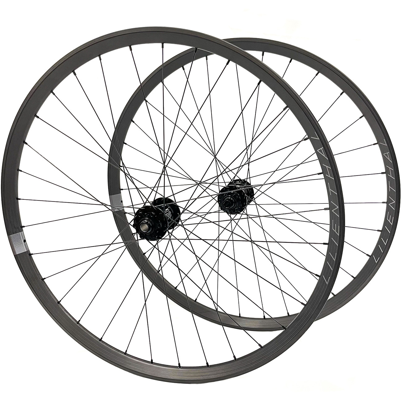 Picture of Lilienthal XE Tune - 27.5 Inches 650B Carbon Wheelset - KillHill 32h / ClimbHill 32h - 6-Bolt - FW: 15x110mm | RW: 12x148mm - Boost - SRAM XD