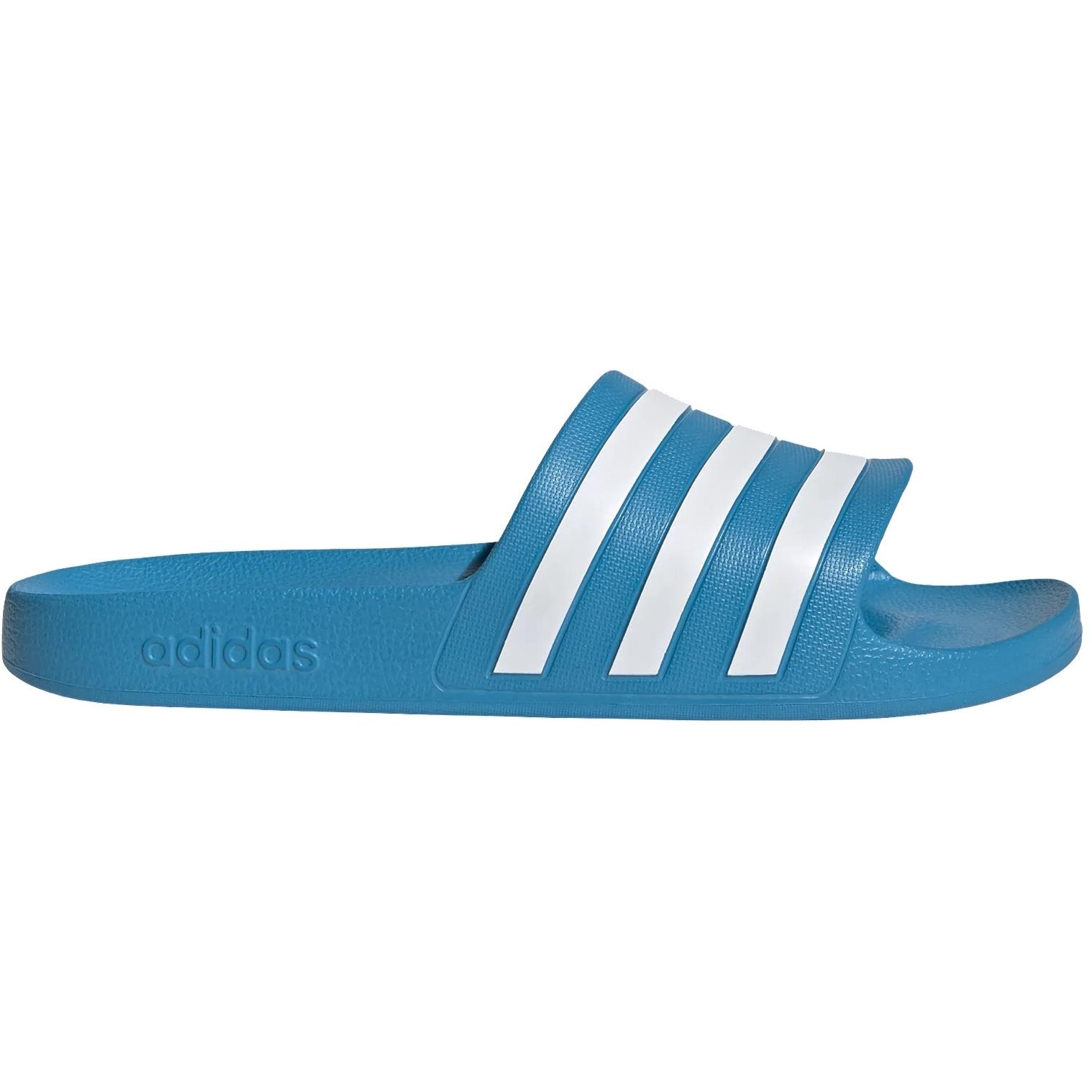 Produktbild von adidas Adilette Aqua Badeschuhe - solar blue/cloud white/solar blue FY8047