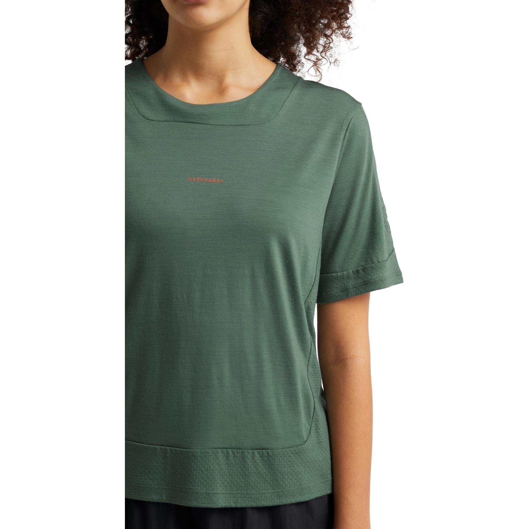 Bild von Icebreaker ZoneKnit™ Damen T-Shirt - Sage