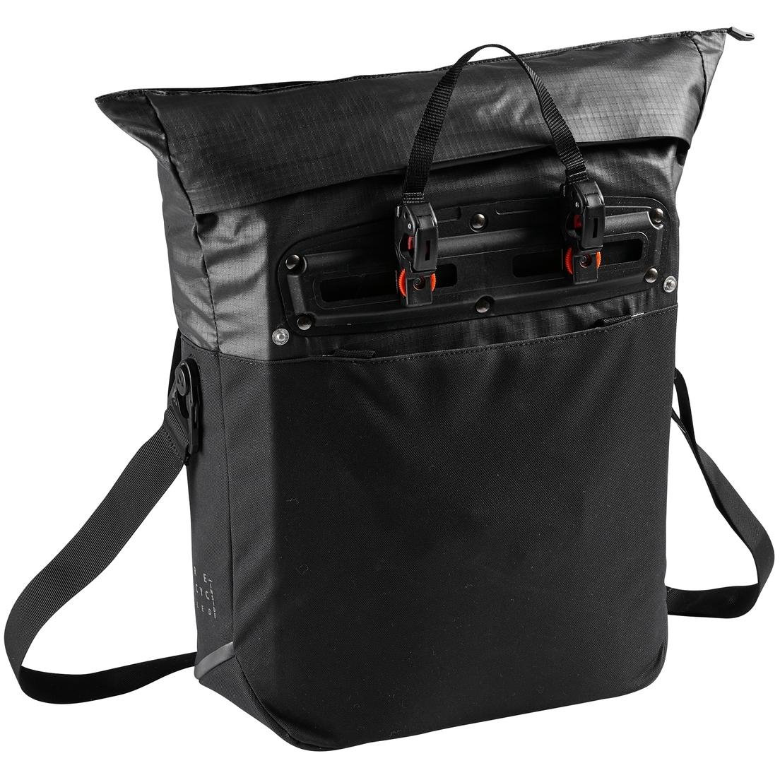 Image of Vaude CityShop Bike Bag - black