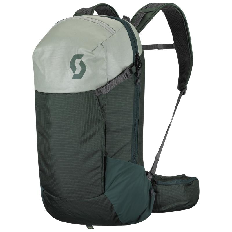 SCOTT Trail Rocket FR' 16 Backpack - smoked green/pistachio green