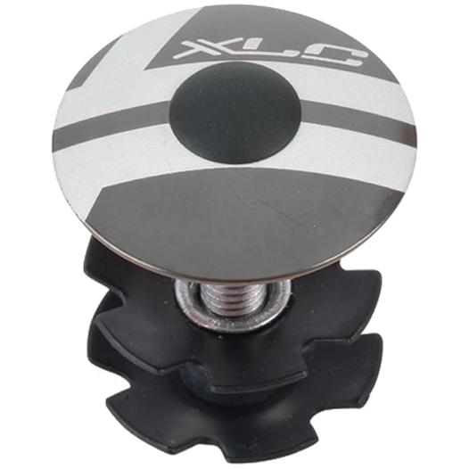 XLC Aheadkappe AP-S01 - 1 1/8 Zoll - titan-farben