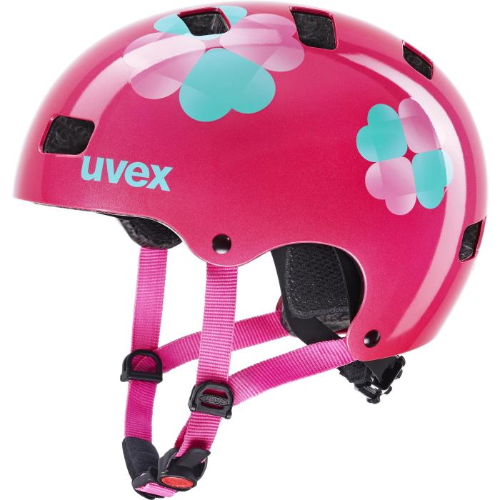 Uvex kid 3 Kinderhelm - pink flower