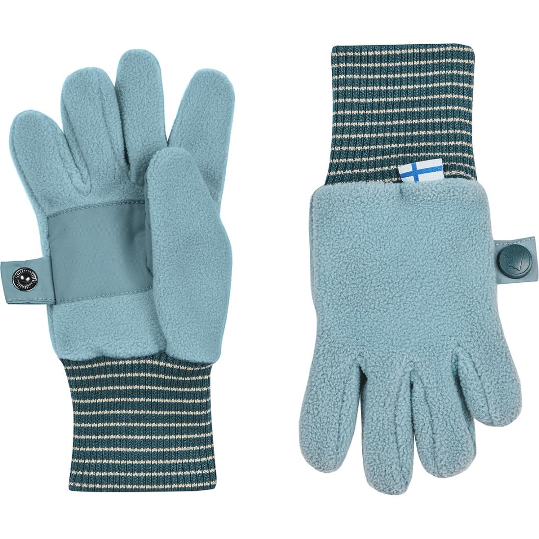 Picture of Finkid SORMIKAS Kids Winter Gloves - smoke blue/deep teal