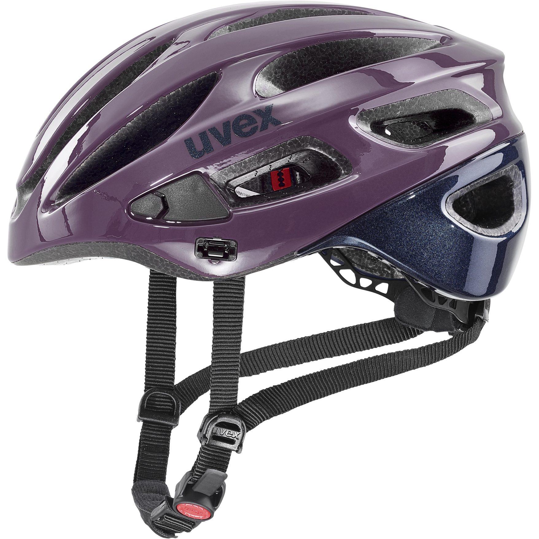 Image of Uvex true Helmet - plum-deep space
