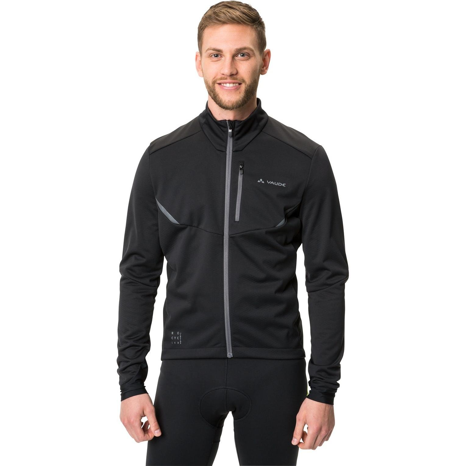 Image of Vaude Men's Kuro Softshell Jacket - black