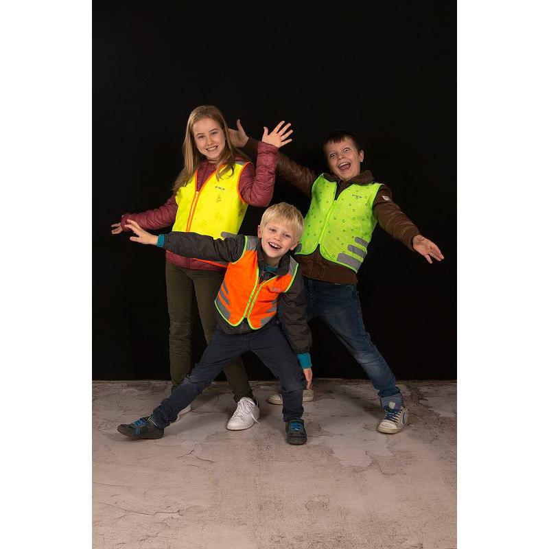 Bild von WOWOW Nutty Jacket - Sicherheitsweste für Kinder - grün
