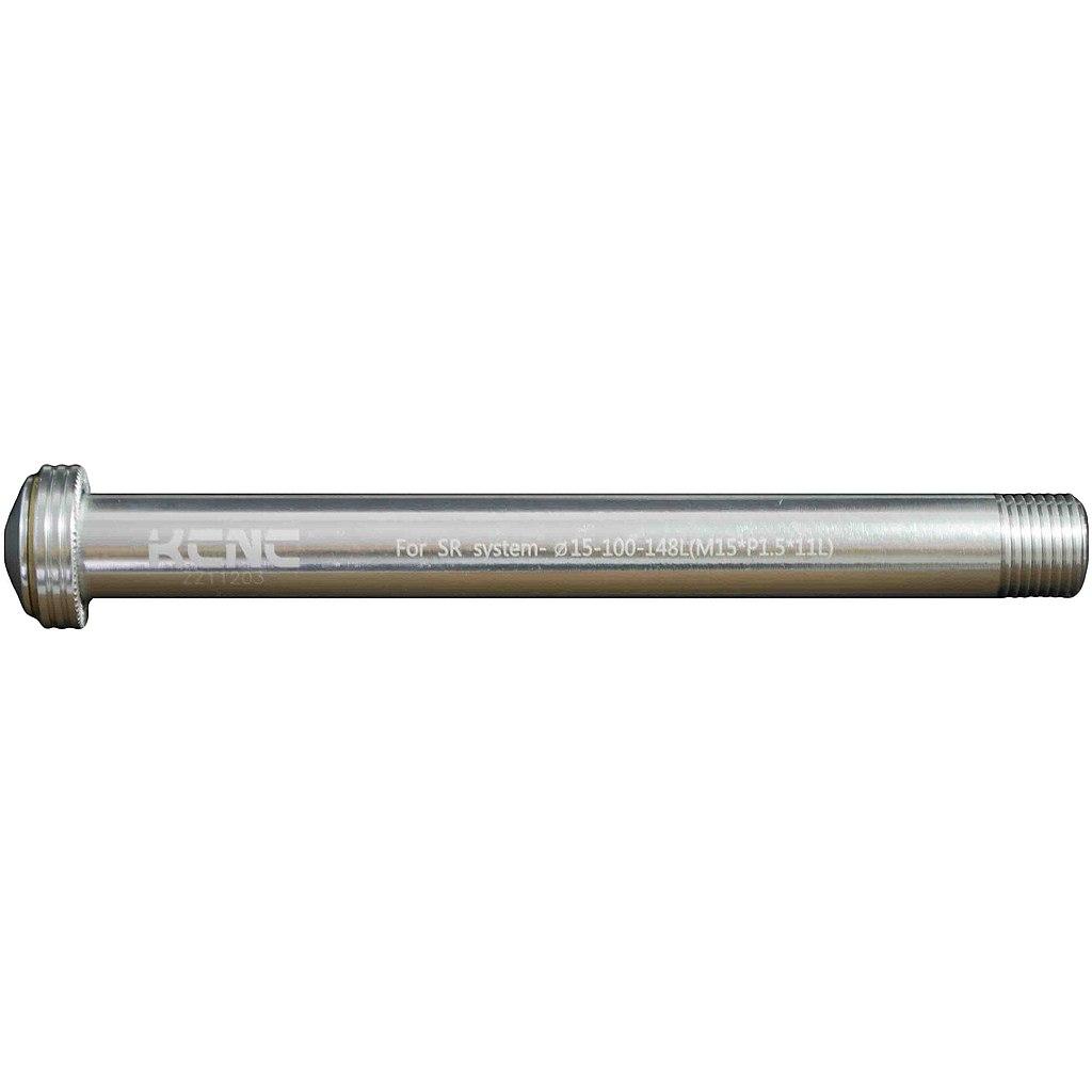 KCNC Thru Axle KQR08 - 15x100mm - 6061AL - silver