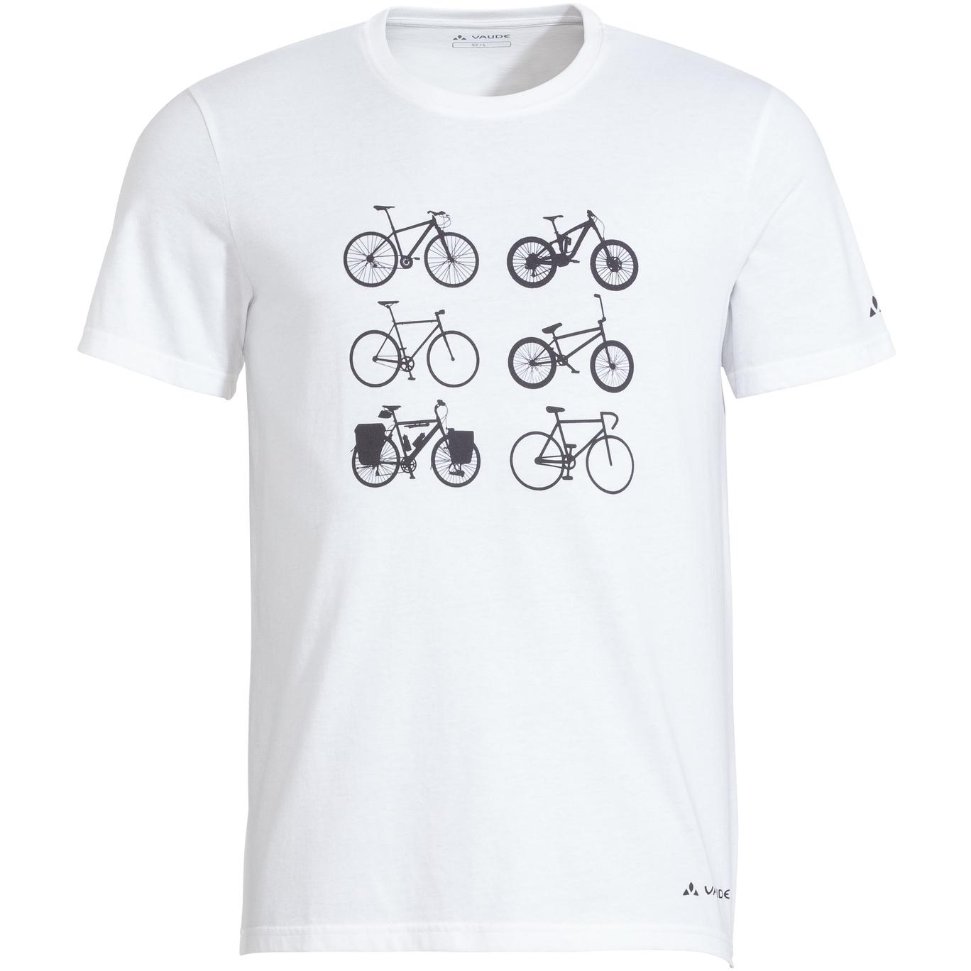 Vaude Cyclist T-Shirt V - weiß