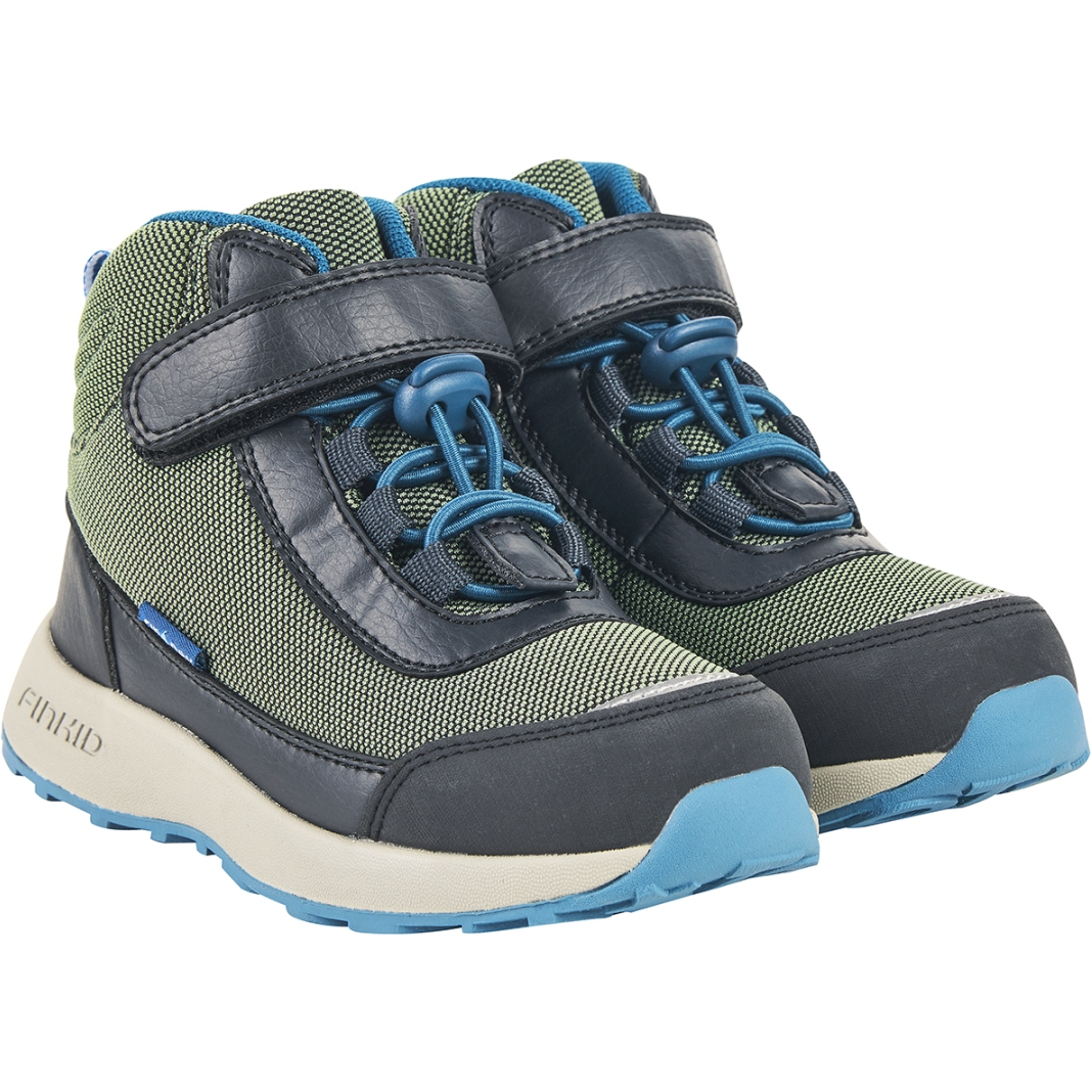 Finkid VUORI Kids Hiking Boots - bronze green/graphit