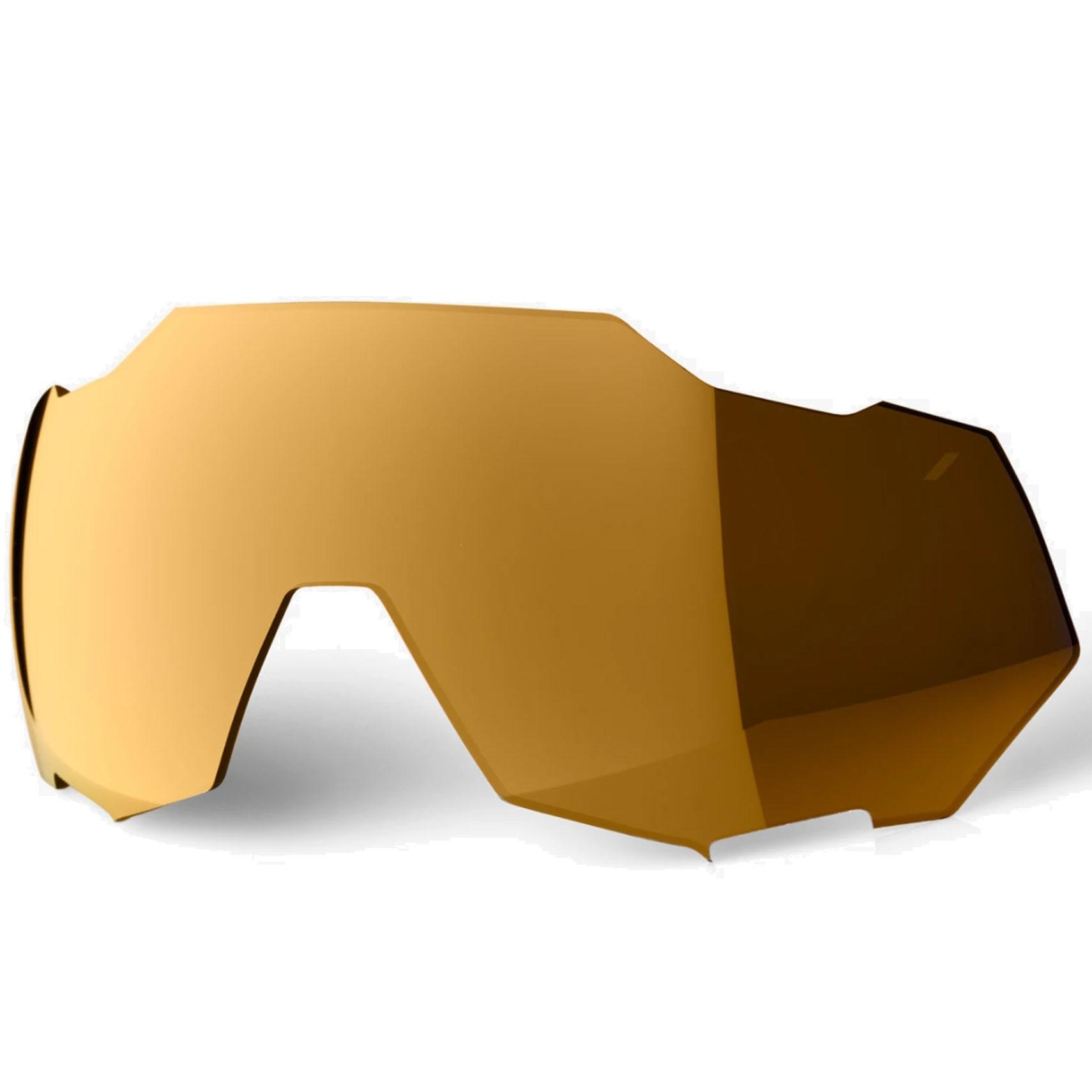 100% Speedtrap Mirror Lente de repuesto - Bronze Multilayer Mirror