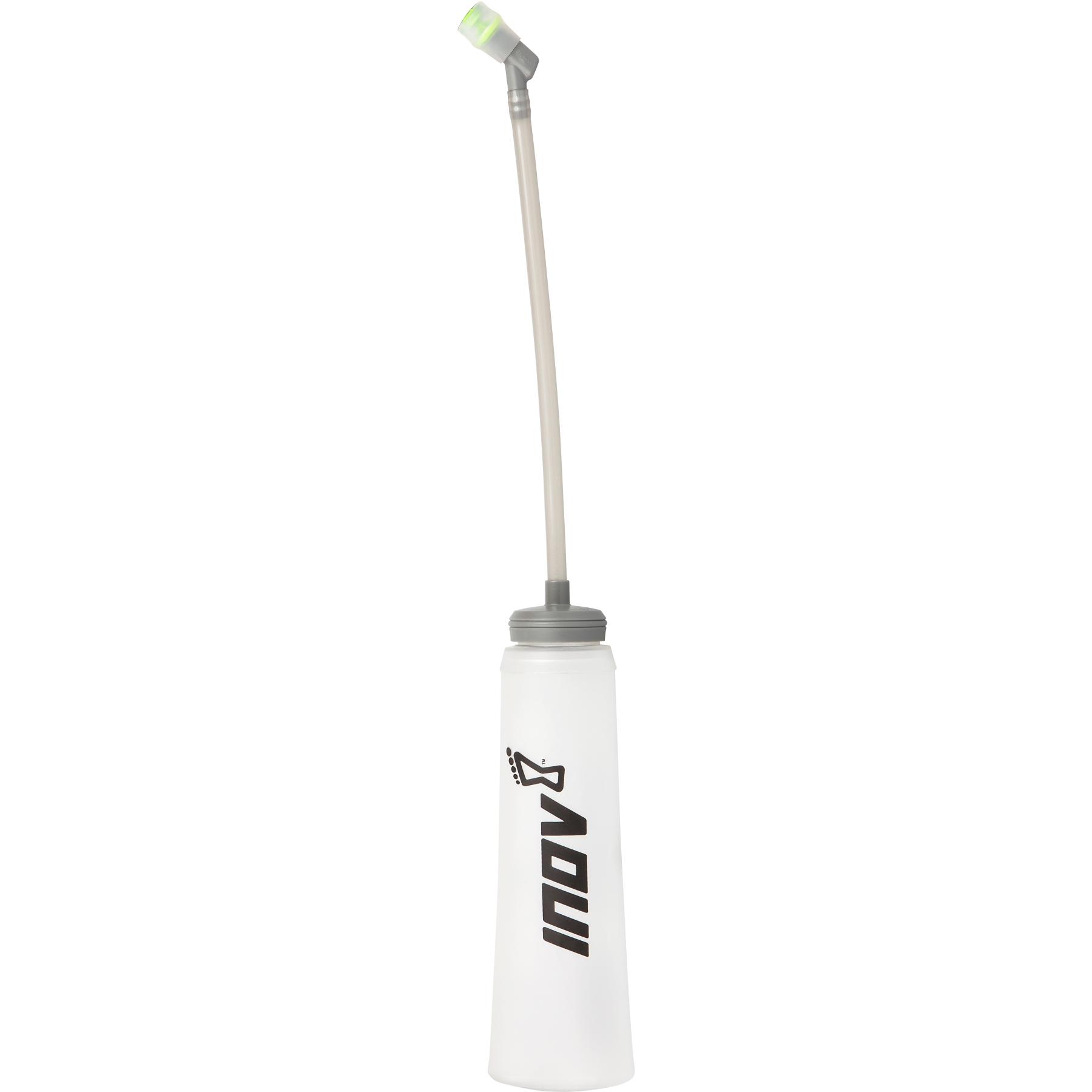 """Produktbild von Inov-8 UltraFlask 0.5L with 10"""" tube Faltflasche - clear/black"""